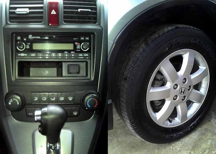 Honda CRV 2008 usada LX 4X2 Automática - Painel
