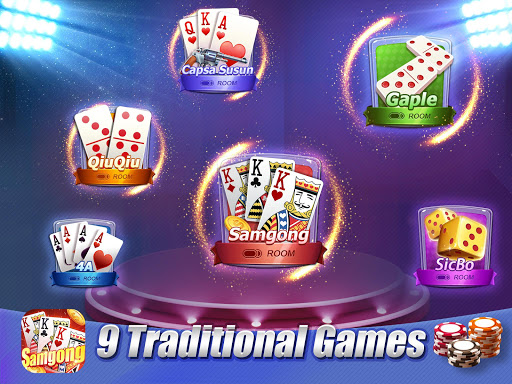 Samgong Indonesia - Classic Poker Card for PC