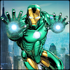 Super Iron Real Hero Fliegende Rettungs Mission icon