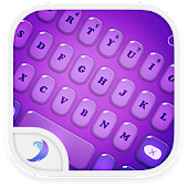 Emoji Keyboard-Candy Purple