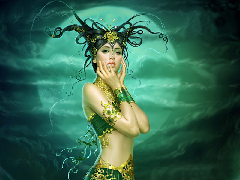 Magick Of Amazing Sorceress, Fantasy Girls 1
