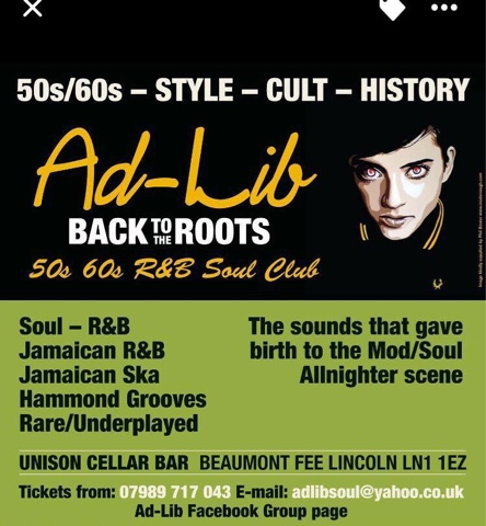 Modernist Society: The Ad-Lib R&B and Soul Club in Lincoln