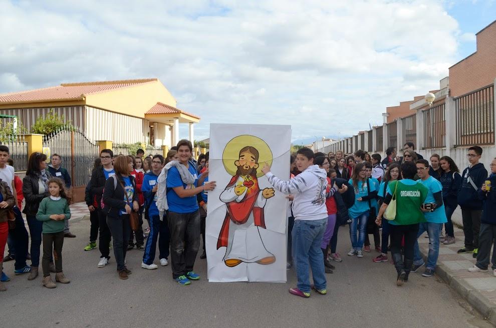 Los Grupos Kairós se desplazan a la parroquia de Nuestra Señora de la Asunción en Villargordo.