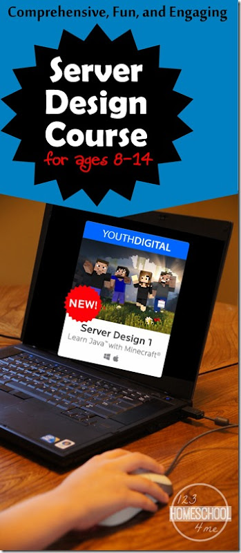 Youth Digital offers Server Design Online Course to teach kids ages 8-14 how to code with Java while building a Minecraft server. Amazing program that is effective, fun, and engaging. HIGHLY RECOMMENDED!