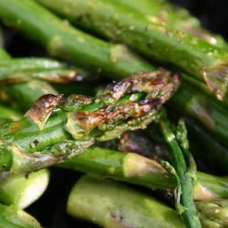 Grilled Asparagus With Lemon Pepper and Balsamic Vinegar