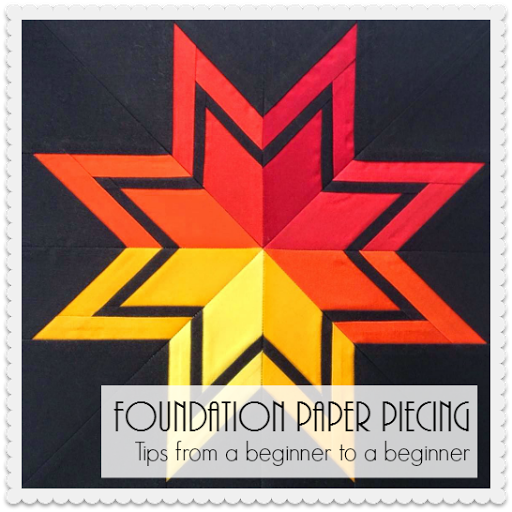 Foundation Paper Piecing Beginner Tips
