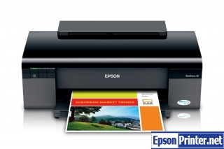 How to reset Epson WorkForce 30 printer