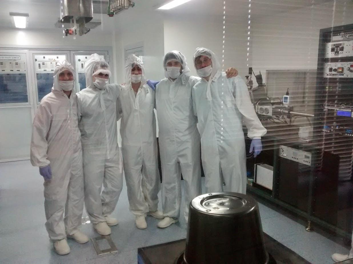 Escuela de MEMS en CNEA-CAC 2014