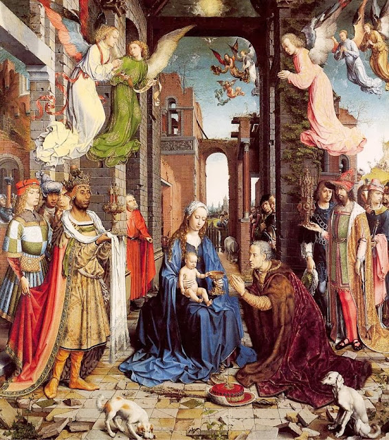 Jan Mabuse - The Adoration of the Kings