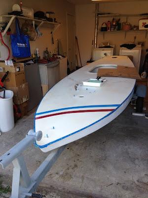 Small Boat Restoration Bud S New Deck Paint