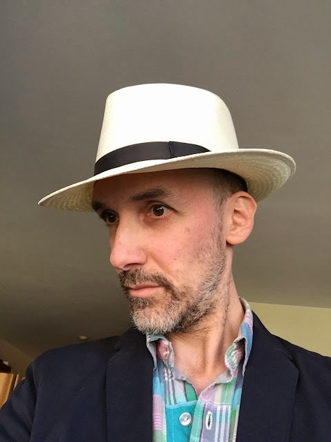 ... much cheaper version -- not a true Panama but still a Stetson (and  straw) that cost about 1 4 the price. It arrived yesterday and I love it. efe8b4f81ad