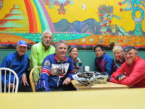 Photo: Doug, Ray, Fat Boy, Kirsten, Christian, Chris, and Tom Auto Shot 2