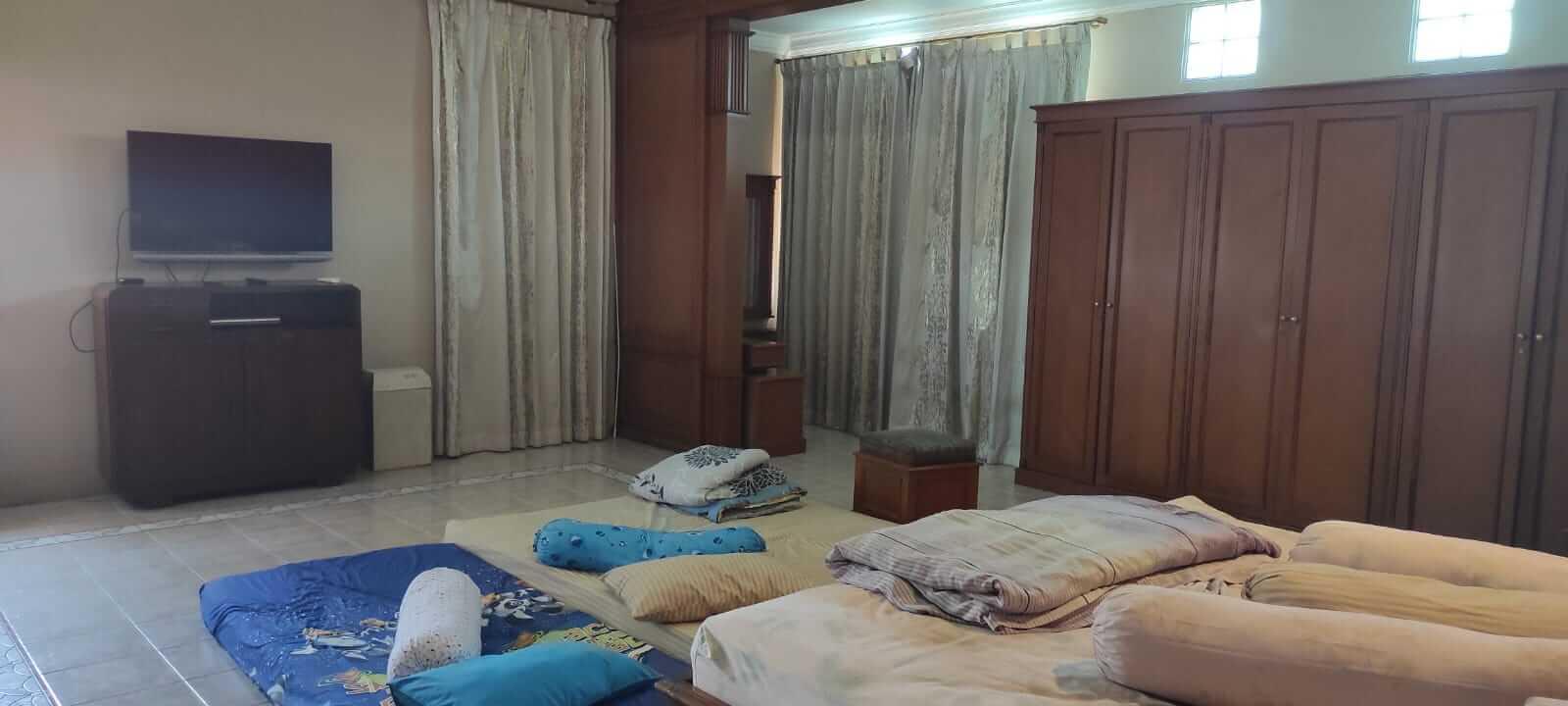 kamar tidur villa andaru gerlong bandung