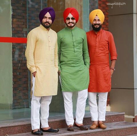punjabi boys fashion