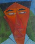 119 - Rica - 2005 61x 50 - Acrylique sur toile mixte
