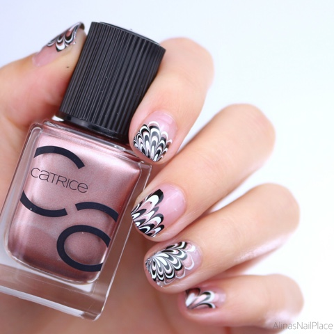 water marble cut out catrice iconails