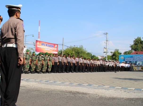 May Day, Polres Ngawi Terjunkan 450 Personel