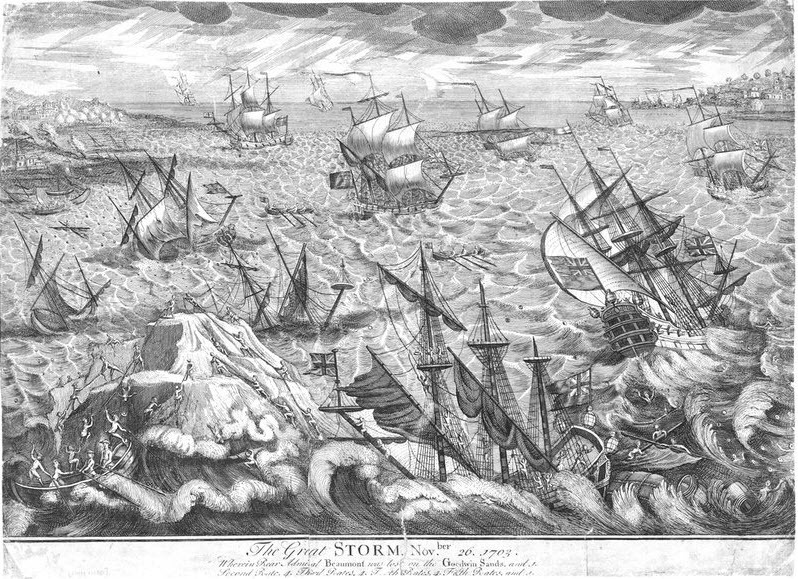 Great-Storm-1703-Goodwin-Sands