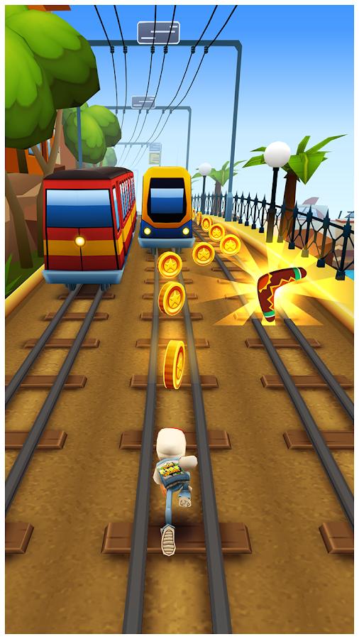 Subway Surfers – zrzut ekranu