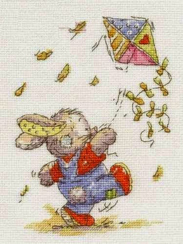 Bunny Kite Flying chart