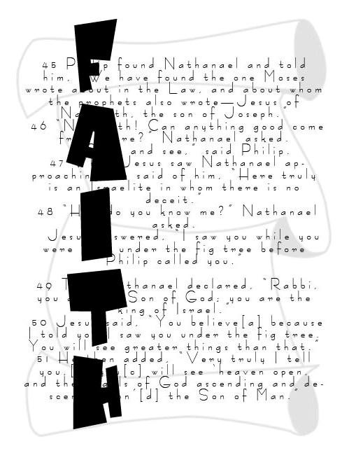 Itching Illustrator: Bible Verse Design:)