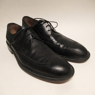 Louis Vuitton Black Leather Derby