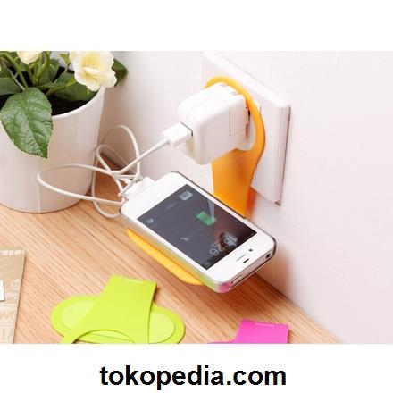 Dudukan Charging Smartphone Wall Adapter Charger S