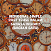 Mengenal Simple Past Tense