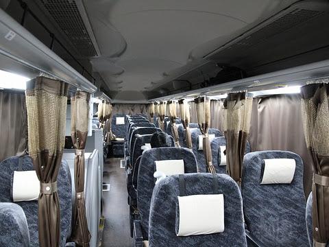 しずてつジャストライン「京都大阪ライナー」・653 車内