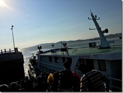 Ferry to Meizhou Island 海神號 客船 莆田 文甲碼頭-湄州島
