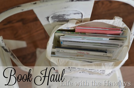 Book Haul- Life with the Hawleys