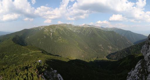 Zo Sivého vrchu na východ