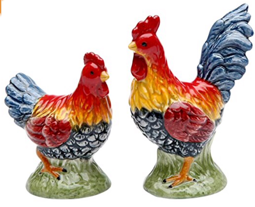 Appletree%20Design%20Barn%20Yard%20Rooster%20Salt%20and%20Pepper%20Set
