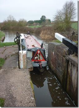 1 approaching tardebigge bottom lock
