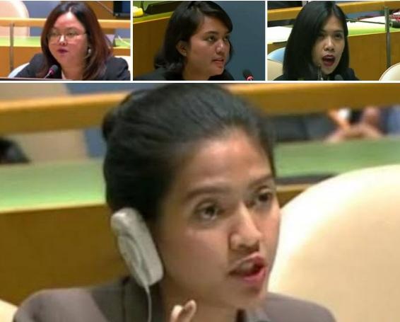 """Ini Sederet Delegasi Perempuan Indonesia yang Berani """"Bungkam"""" Tuduhan Vanuatu di Forum PBB"""