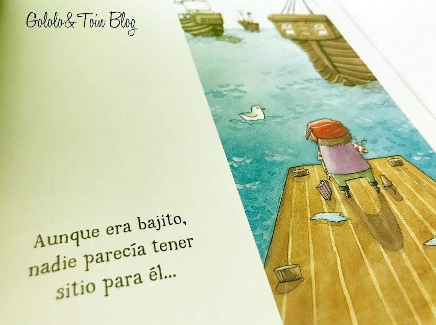 Álbum ilustrado sobre piratas