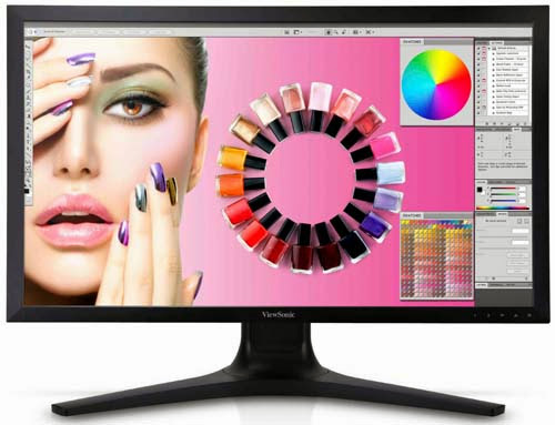 ViewSonic VP2772 27-inch Adobe Color QHD Professional IPS Display