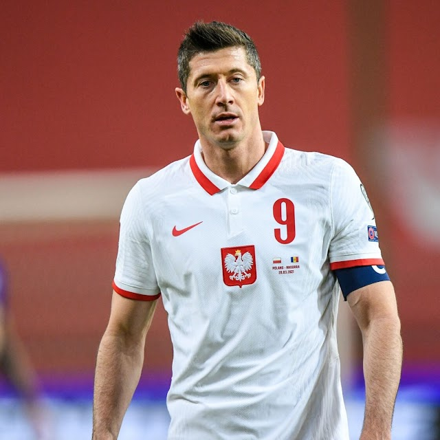 LEWANDOSKI SET TO BE SIDELINED FOR 4 WEEKS DUE TO A RIGHT KNEE LIGAMENT INJURY
