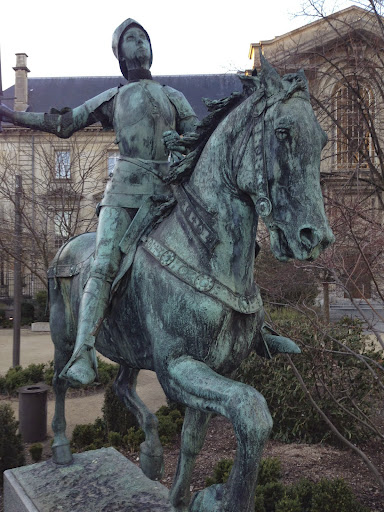 Joan of Arc, Reims. From 100 Places in France Every Woman Should Go