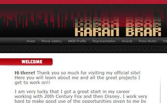 Karan Brar Website