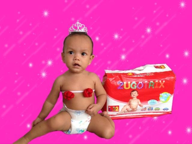 Diapers Zugotrix SuperDry selesa di pakai