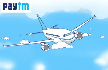 Paytm - Rs.1000 Cashback on Flight Ticket Bookings of Rs.2000 or More