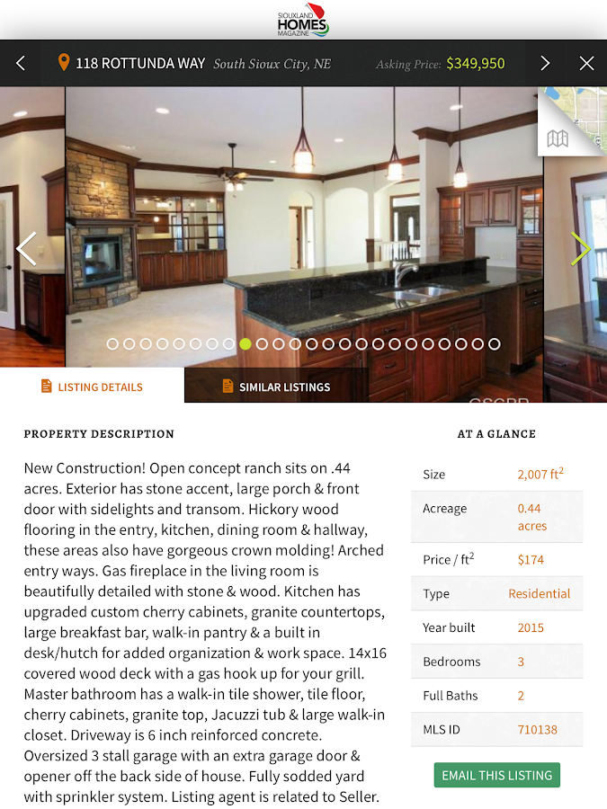 Siouxland Homes- screenshot