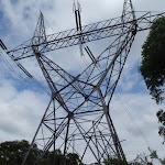 Passing some large powerline towers (120871)