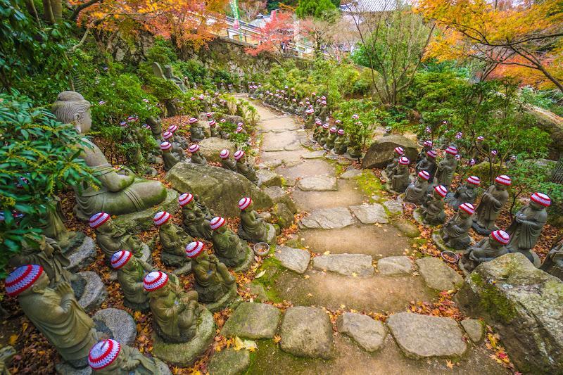 Miyajima Daishoin Temple statues of five hundred of Shaka Nyorai's disciple1