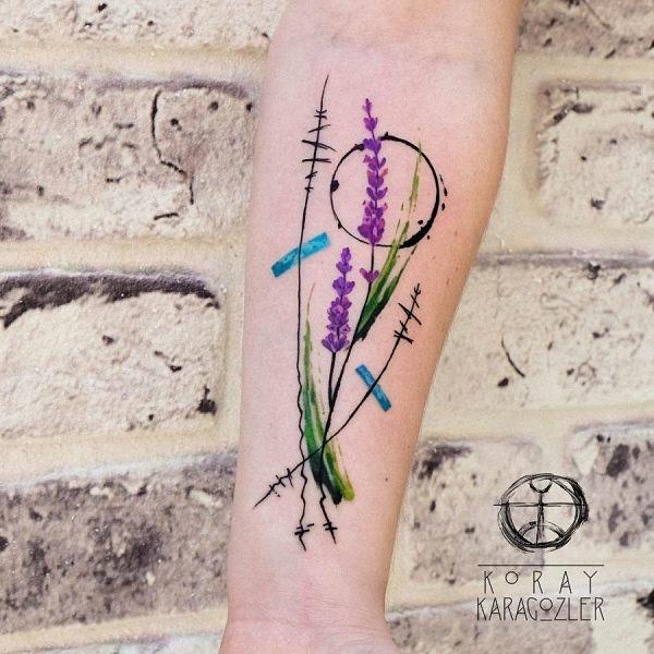 este_exclusivo_de_lavanda_aquarela_flor_da_tatuagem