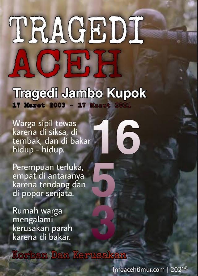 Mengenang 18 Tahun Tragedi Jambo Keupok