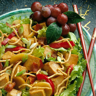 Crunchy Chinese Pork Salad.