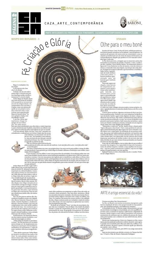 Página da Caza - 10 de Agosto de 2012