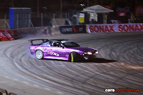 Alan Sinnott's in his Nissan Silvia
